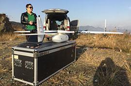 执行无人机航摄项目
