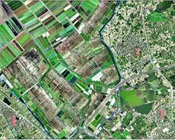 福建省县级海域影像地图集制作