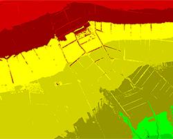博乐激光LIDAR点云-新疆机载激光雷达航摄