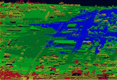 激光雷达航摄