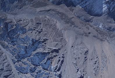 西藏左贡地区激光雷达航摄