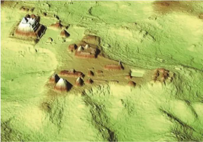 激光雷达遥感发现丛林中的玛雅遗址