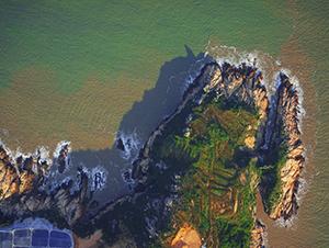 福建省海岸线无人机航摄成图