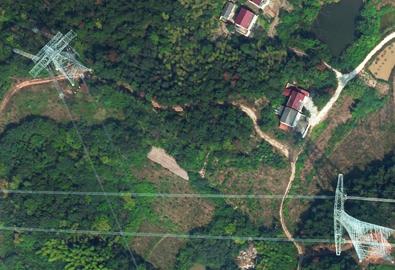 白鹤滩-江苏段特高压直流输电线路工程航拍服务