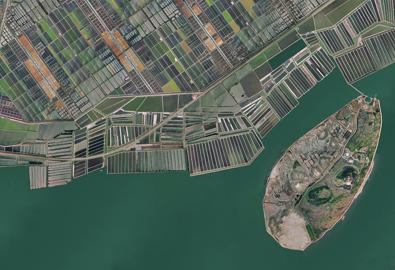 河北海岸带正射影像图生产