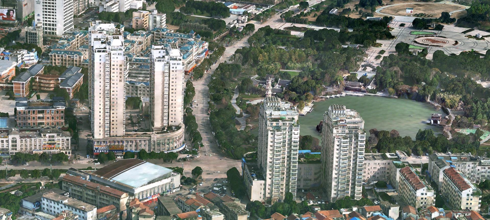 实景三维地图 开启智慧城市