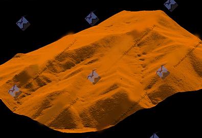 令人叹为观止!古代DEM绘制三维立体地形