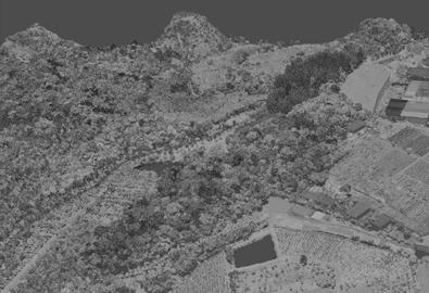 高山地貌激光雷达点云数据获取对机载激光雷达相机有什么要求?