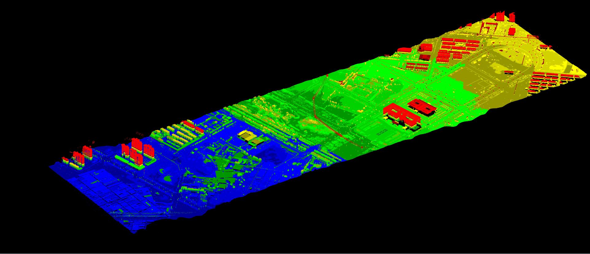 为什么机载激光雷达(Lidar)测量技术能够应用在铁路项目的勘测中