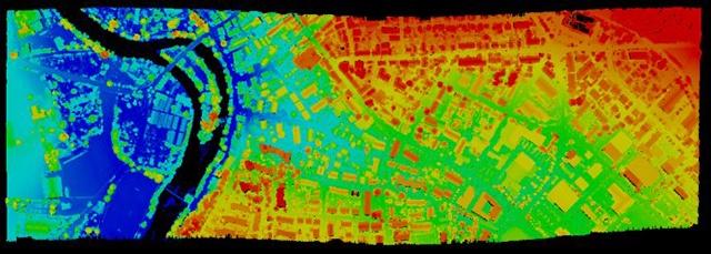 基于机载激光LIDAR的工程测量技术实例探讨