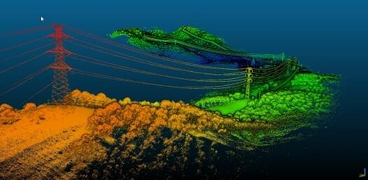 基于LIDAR数据的数字高程模型获取