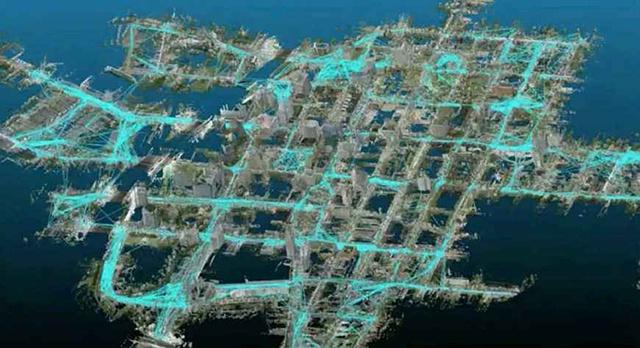 ArcGIS平台中LiDAR数据三维城市建模